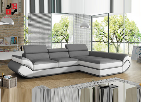UNIVERSE MINI - Luxury corner sofa bed for extra ordinary folkes >320x190cm<