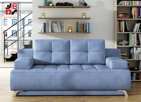 OLIVIA - Funky and extremely functional sofa bed which fits every kind of room >197x94cm<