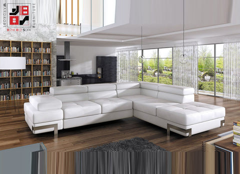 ENTORIO - Luxury corner sofa bed which makes every space more valueable >275x223cm<