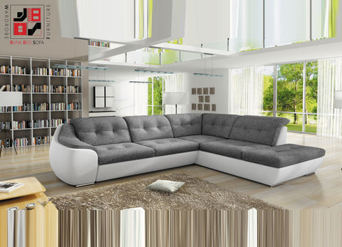 PINATA IV - Extremely comfy and functional corner sofa bed >288x230cm<