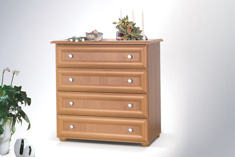 LILY V - Modern 4 Drawer Chest with Classy Design >84cm<