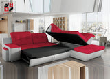 PINATA I - Extremely comfy and functional corner sofa bed >292x230cm<