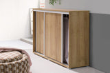 TERRY I - Modern Cabinet with Sliding Door. A great way to save space >119cm<