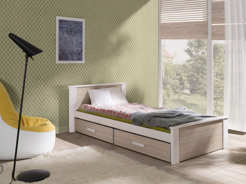 ASTI - Cute single bed for a child with 2 big drawers NEW COLLECTION
