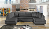 ARGENTINA U - modern, classy U-shaped sofa bed with sleeping function >367x200cm<