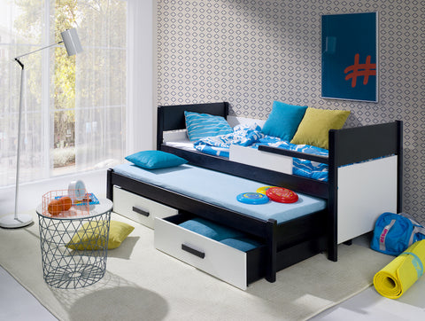DANNY - Awesome single bed with trundle bed for 2 kids NEW COLLECTION