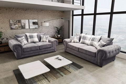CORDELIA SOFA SET - Luxury Sofa Suite with modern look. Brilliant design in your room. NEW COLLECTION!
