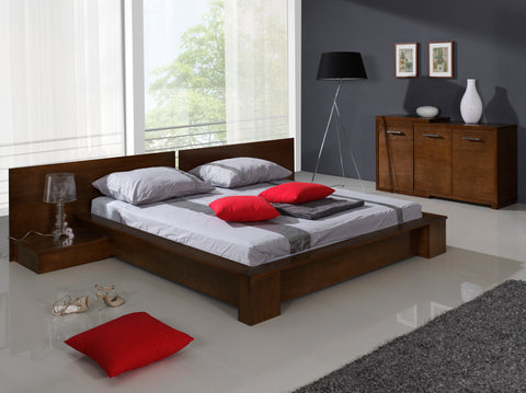 MISSANO Elegant Bedroom Bed with Bedside Tables NEW COLLECTION