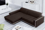 MARY - Elegant Corner Sofa Bed with Storage and Sleeping Function. Various Colours >260x177cm<