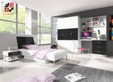 EDEN II - your loved ones will love it for modern design and functional - Wardrobe-Bunk-Bed-Sofa - 7