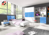 EDEN II - your loved ones will love it for modern design and functional - Wardrobe-Bunk-Bed-Sofa - 2