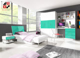 EDEN II - your loved ones will love it for modern design and functional - Wardrobe-Bunk-Bed-Sofa - 3