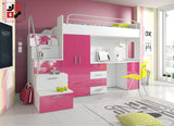 PARADISE I - your loved ones will love it for modern design and functional - Wardrobe-Bunk-Bed-Sofa - 5