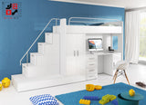 PARADISE III - bed for children, modern design and hidden trundle bed in drawer