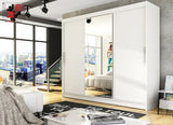 NOTSA 1 -  3 sliding door wardrobe with mirror
