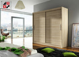BRAVA I - 2 sliding door wardrobe with huge capacity >180cm width<