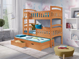 DONALD III - Perfect triple bunk bed for your loved ones