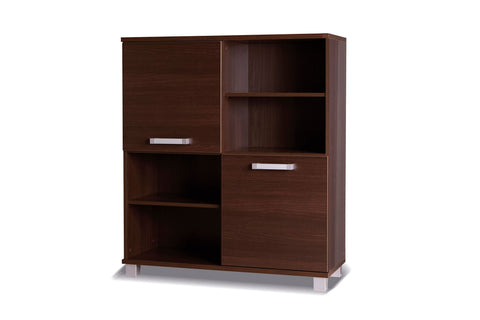 RUSSEL R25 - Modern Cabinet with 2 Doors and Shelves, 4 colours >100cm<
