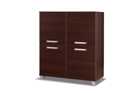 RUSSEL R4 - Modern Cabinet with 4 Doors, 4 colours >100cm<