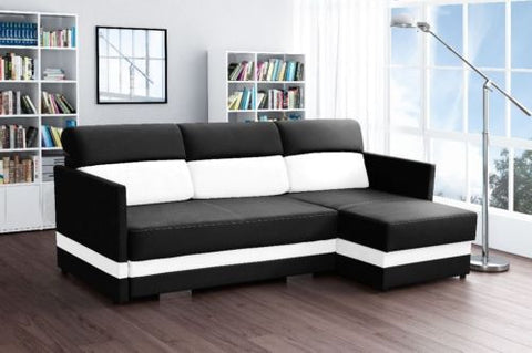COLIBER - Modern Corner Sofa Bed - Wardrobe-Bunk-Bed-Sofa - 1