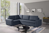 TILLY - Large Corner Sofa Bed with 2 Storages and Pull Out Bed. Various Colours >290x195cm<