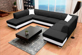 ARCO U - huge elegant U-shaped sofa bed with sleeping function >340x220cm<