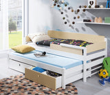 TANU I - Really cute dual bed for kids with drawers