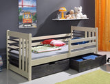 TILIA - Children Single Bed With Drawers And Mattress