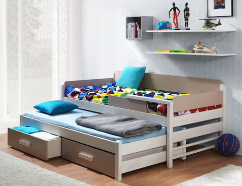 DOIS - Unique and solid design of dual bed with great functional