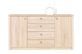 WALTZ W6 - Modern Door Chest with 4 Drawers and 2 Doors >160cm<