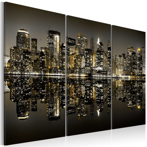 Canvas Print - Golden New York