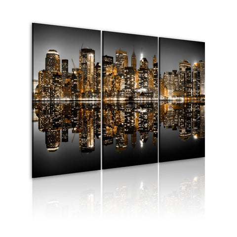 Canvas Print - Sea of lights - NYC