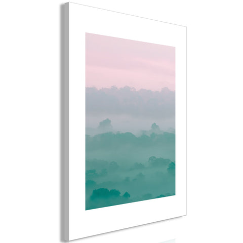 Canvas Print - Foggy Dawn (1 Part) Vertical