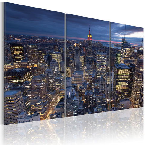 Canvas Print - View from above - NYC