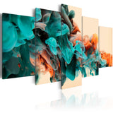 Canvas Print - Fury of colors