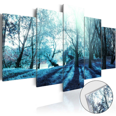 Acrylic Print - Blue Glade [Glass]