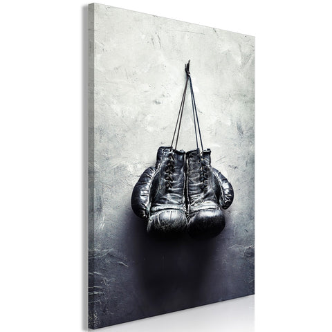 Canvas Print - Boxing Gloves (1 Part) Vertical