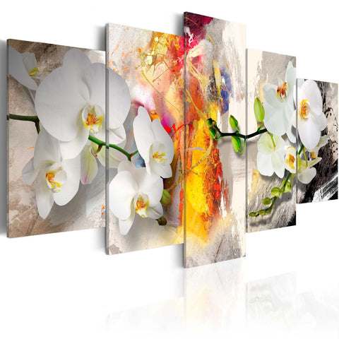 Canvas Print - Orchid And Colors