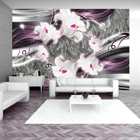 Wallpaper - Dance of charmed  lilies