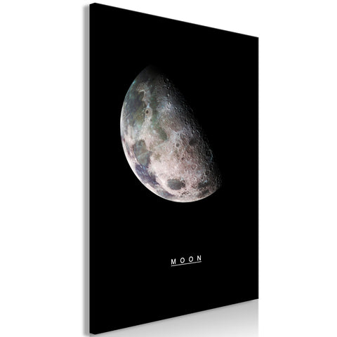 Canvas Print - Moon (1 Part) Vertical