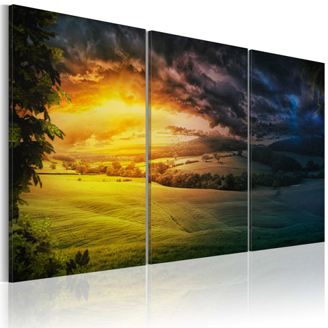 Canvas Print - Land of the rising sun