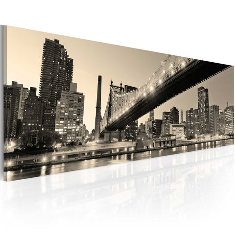 Canvas Print - NYC - night tales