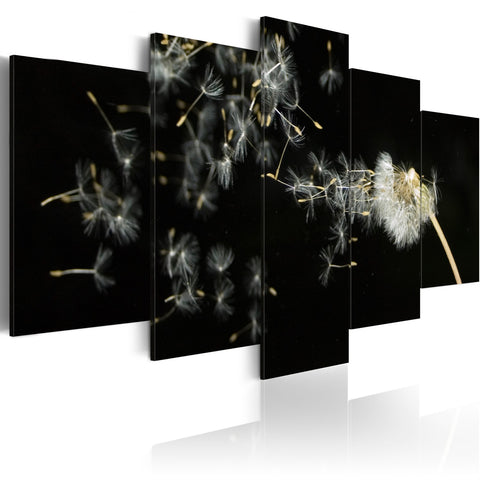 Canvas Print - Moments as ephemeral as dandelions
