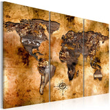 Canvas Print - World in opalescent shades