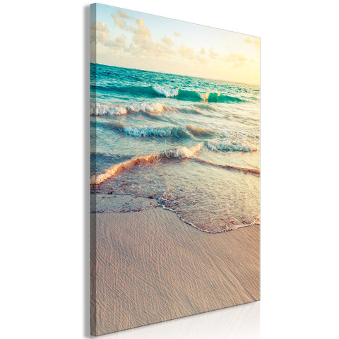 Canvas Print - Warm Morning (1 Part) Vertical