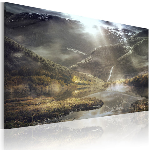 Canvas Print - The land of mists