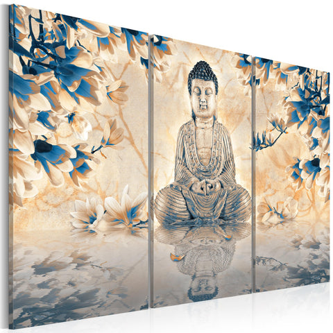 Canvas Print - Buddhist ritual