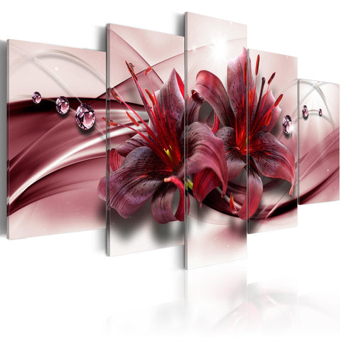Canvas Print - Pink Lily