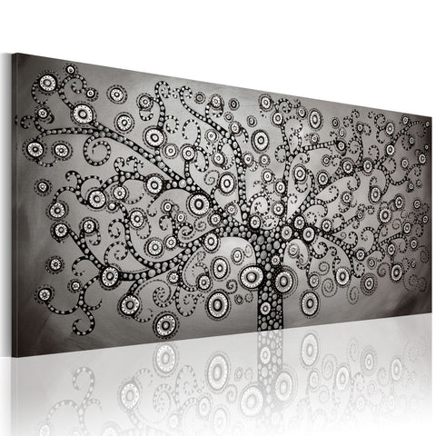 Canvas Print - Silver Tree