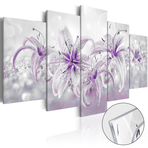 Acrylic Print - Purple Graces [Glass]